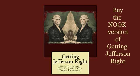 Getting Jefferson Right for Nook