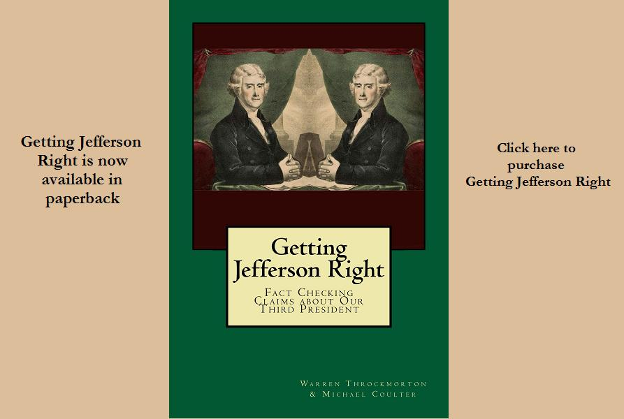 Getting Jefferson Right in Paperback